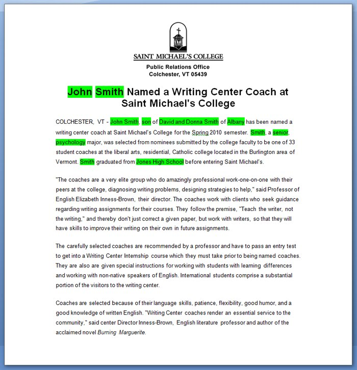 Writing Center Coaches Readmedia Wiki