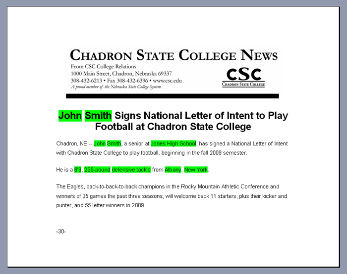 Letter of Intent readMedia Wiki – Sample College Letter of Intent